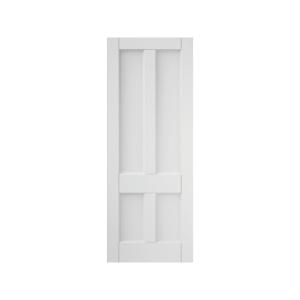 4 Panel Interior Primed Deco Solid Core Door