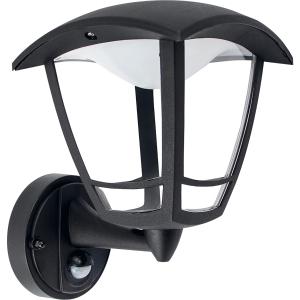 Luceco Exterior LED PIR IP44 Coach Lantern 640 Lumens - 8W