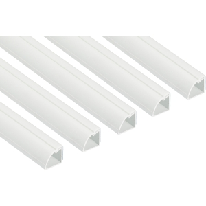 D Line 1/4in Round Trade Pack 3m 22 x 22mm 5 Pack