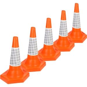 Jsp JAA049 220 6Y0 Traffic Cones 500mm Pack 5