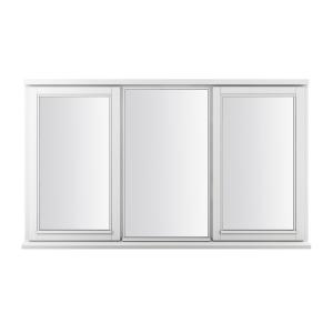 JELD-WEN Stormsure White Timber Window 2 Panel Right Opening 1765 x 895mm