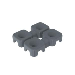 Versoflor Tile Connectors Graphite Grey 10 Pack