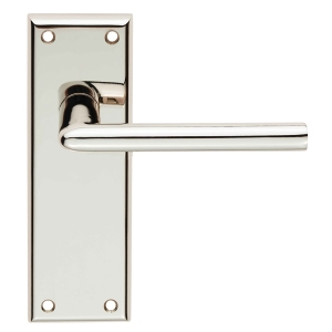 4FIREDOORS Vogue FS957 Lever Handle On Back Plate Chrome