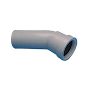 Osma Waste 30¡ push-fit spigot bend grey 40mm