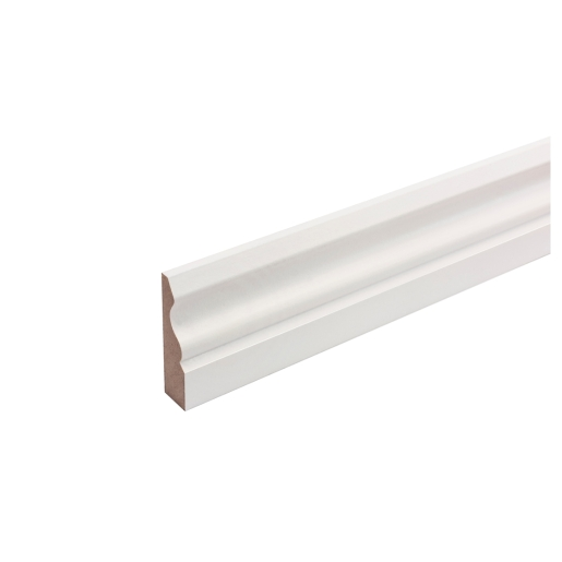 MDF Painted TRUprofile Ogee Architrave 18mm x 69mm x 2.44m