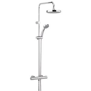 Bristan Carre Thermostatic Shower Chrome CR-SHXDIVFF-C