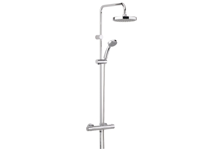 Bristan Carre Thermostatic Shower Chrome CR-SHXDIVFF-C