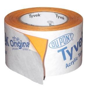 Tyvek® Acrylic Single-Sided Tape 75mm x 25m