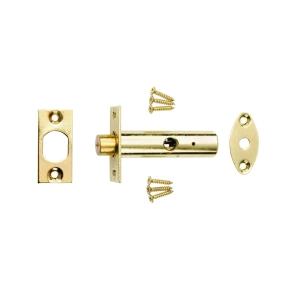 4Trade Brass Security Door Rack Bolt