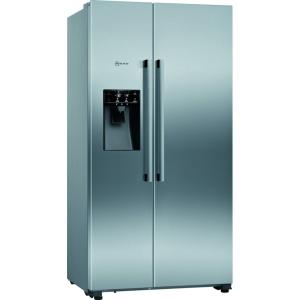 NEFF Side by Side Style Fridge Freezer Frost Free Stainless Steel - KA3923IE0G