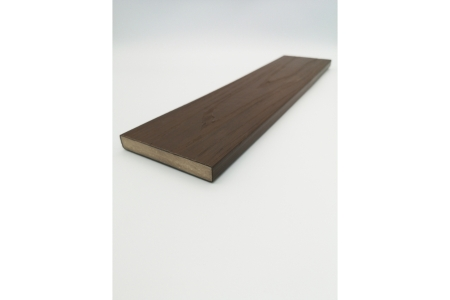 Urban Composite Skirting Trim 15mm x 100mm x 2400mm Arran Dark Brown