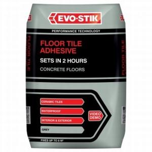 Evo-stik Tile A Floor Adhesive for Stone & Porcelain 10kg