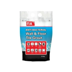 Norcros Anti Bacterial Grout Arctic White 2.5kg