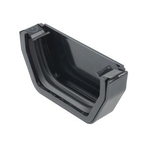 Osma SquareLine 4T811 External Stopend 100mm Black