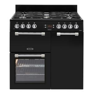 Leisure CK90G232K Cookmaster Gas Range Cooker Black 90cm