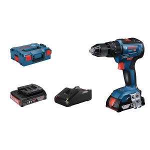 Bosch 06019H5370 Gsb 18V-55 Professional Brushless Combi Drill 18V 2 x 2AH