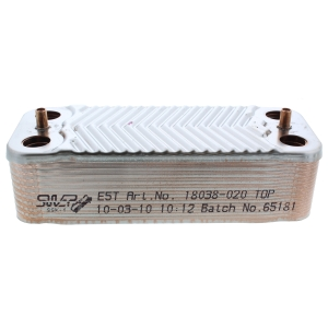Alpha 1.022222 Dhw Heat Exchanger CD35