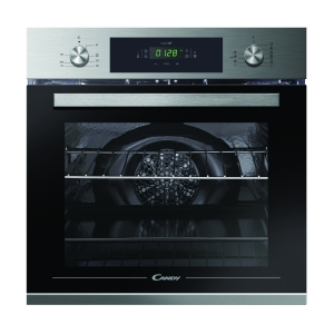 Candy FCP815 x E0/E Single Multifunction Oven with Steam Clean & Wifi Stainless Steel