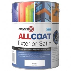Zinsser Allcoat Exterior Wb Satin White 2.5LT