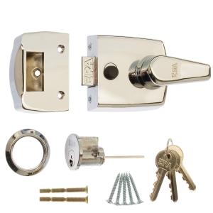 ERA Replacement Front Door Lock Satin 60mm