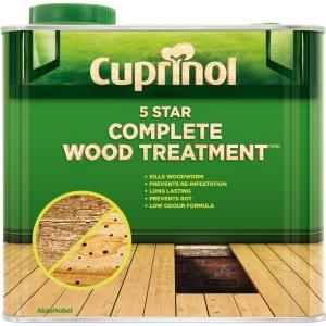 Cuprinol Wood Treatment 5 Star 2.5L