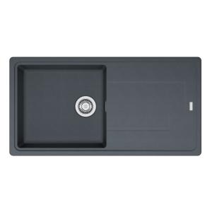 Franke Titan 1 Bowl Inset Black Composite Kitchen Sink