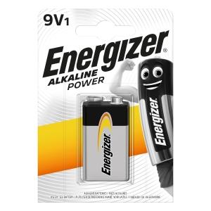 Energizer Alkaline Power 9V 522 BP Battery