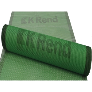 K Rend Alkali Resistant Reinforcing Mesh Green 1 x 50 m