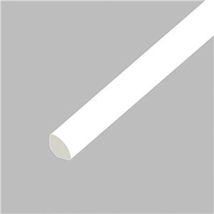 Eurocell Window Trim Upvc Small Quadrant 13mm White