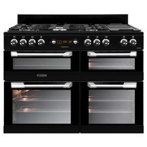 Leisure CS110F722K Cuisinemaster Dual Fuel Range Cooker Black 110cm