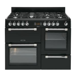 Leisure CK110F232K Cookmaster Dual Fuel Range Cooker Black 110cm