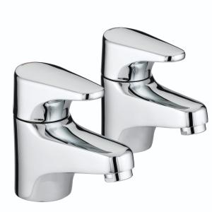 Bristan Jute Bath Taps Chrome JU3/4C
