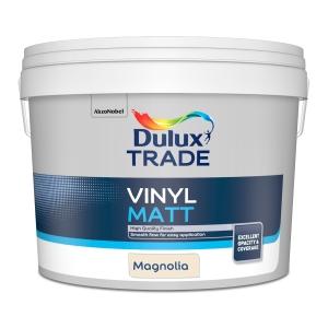 Dulux Trade Vinyl Matt Emulsion Paint Magnolia