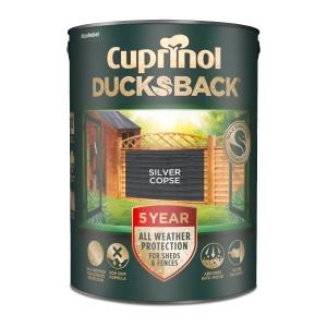 Cuprinol 5 Year Ducksback Silver Copse 5L