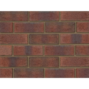 Ibstock Brick Aldridge New Burntwood Red Rustic 73mm - Pack Of 292/332