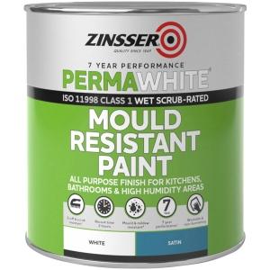 Zinsser PERMA-WHITE Mould Resistant Interior Paint 1L