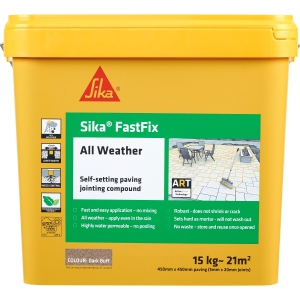 Sika Fastfix All-Weather Jointing Compound Dark Buff