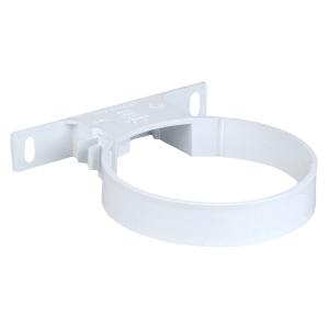 Osmasoil 110mm System White Pipe Bracket