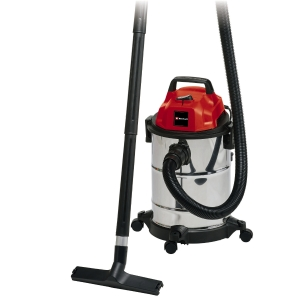 Einhell TC-VC 1820S 20 Litre Stainless Steel Wet & Dry L Class Vacuum 1250W