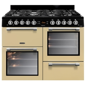 Leisure CK100G232C Cookmaster Gas Range Cooker Cream 100cm