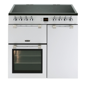 Leisure CK90C230S Cookmaster Electric Range Cooker Silver 90cm