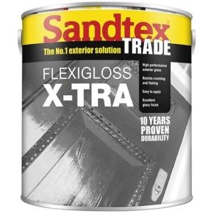 St Flexigloss X-tra Black 1L