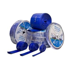 Obart PVC Layflat Hose Blue 2in x 50m