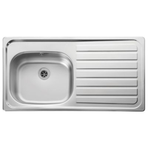 Leisure Lexin 2 Tap Inset Stainless Steel Right Hand Drainer Kitchen Sink LE95R