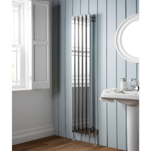 Towelrads Soho Vertical Chrome Radiator 1800mm