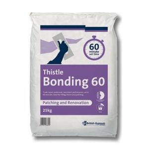 British Gypsum Thistle Bonding 60 Minute 25kg