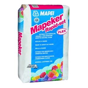 Mapeker Rapid Setting Flexible White Tile Adhesive 20kg