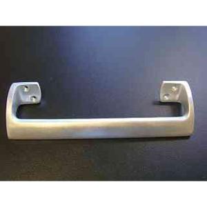 4Trade Pull Handle Oval Grip Satin Anodised Aluminium 225mm
