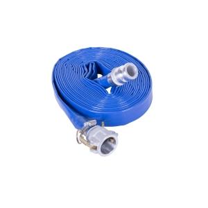 Obart PVC Layflat Hose Blue 2in x 100m