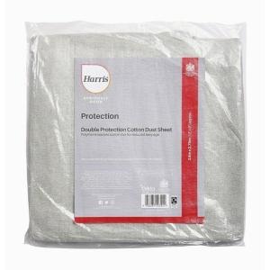 Harris Seriously Good Cotton Rich Dust Sheet 12' x 9'